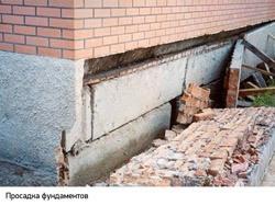 Восстановление фундамента г.Бийск