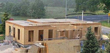 деревянный каркасный дом г.Бийск