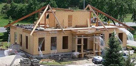 дом из деревянного каркаса г.Бийск