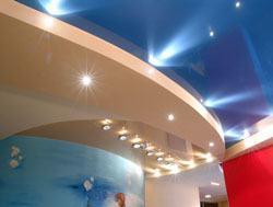 Натяжные потолки г.Бийск, сатиновые натяжные потолки, глянцевые натяжные потолки